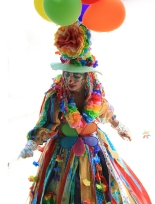 Eureka Springs parades led by Margo the clown