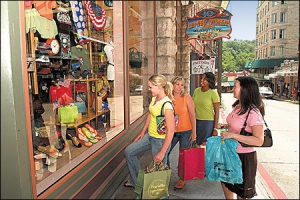 Shopping Downtown in Eureka Springs is an experience all its own.