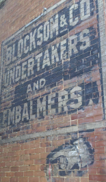 Eureka Springs ghost sign