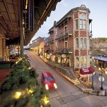 Downtown Eureka Springs is home to the Christmas Festival