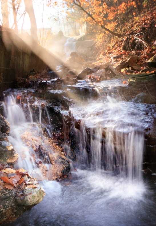eureka springs waterfalls