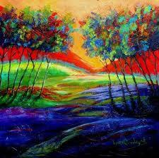 eureka springs artist karrie evenson painting nature landscape