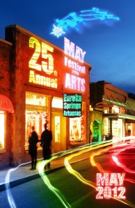 eureka springs may festival arts
