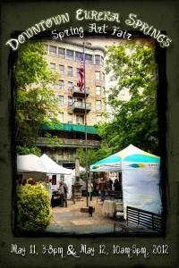 eureka springs downtown art fair