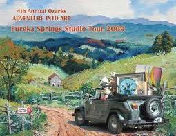eureka springs art studio tour