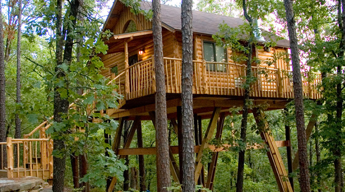 Woodland Or Lakeside Cabin Retreats Eureka Springs Has