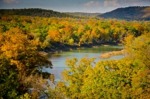 eureka springs fall color