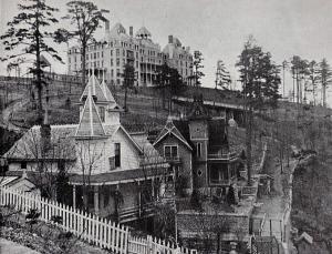 most haunted towns eureka springs arkansas