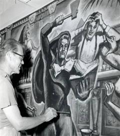 Artist Louis Freund