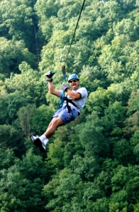 Ozark Mountain Ziplines is the way to explore the Ozark Mountains.