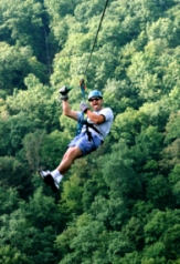 Ozark Mountain Ziplines is the way to explore the Ozark Mountains.
